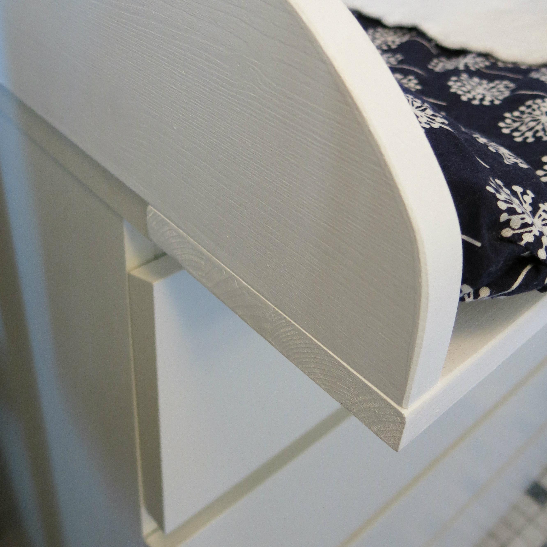Hervorragend Die Ikea Malm-Kommode zur Wickelkommode umbauen – Mama in Essen YJ93