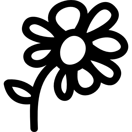 flower-hand-drawn-symbol